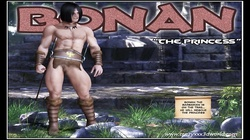 3D Comic: Bonan. The Princess
