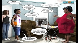 3D Comic: The Chaperone. Episodes 72-73