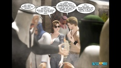 3D Comic: Clara Ravens. Episode 3