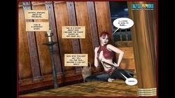 3D Comic: Red Hand Jill. Episodes 1-2