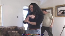 Alluring step sister is getting into a nasty action