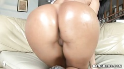 Hottest Latina milf is being face-fucked and anally drilled hard