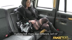 Intensive sex with astonishing slut and hardcore driver