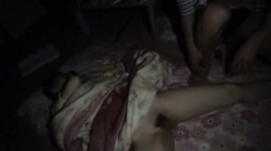 Cute asian girlfriend in sexy lingerie gets fucked on amateur camera