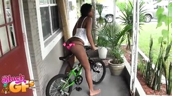Demonstrating with skinny Black amateur ebony sex alluring