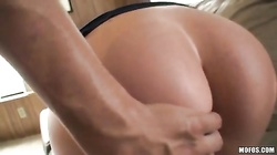 Listen to the sounds of a fabulous brunette in anal porn with her ex