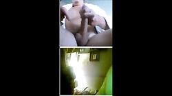 Girls having fun with flashing guy from 720cams.com