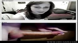 Flashing in videochat ladies puta dildo