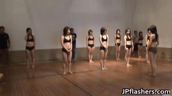 Super hot Japanese girls flashing part2