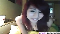 Asian teen flashing boyfriend no sound - Affair from CHEAT-MEET.COM