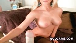 Big tited milf flashing her tits rubbin pussy