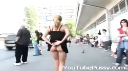 - Girl Flashing Nude In Street - YouTubePussy.com