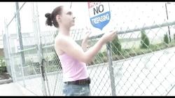 Untamed randy teen sluts flashing in public