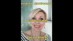 virginie dautrecque defoncee par un black