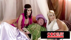 Arabian night themed orgy - oooslut.com
