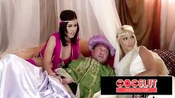 Arabian night themed orgy - oooslut.com