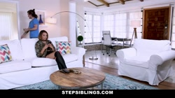 StepSiblings - Flexible Stepsis Gets Pussy Popped