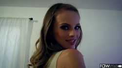 RawAttack - big booty Jillian Janson is punished by a big dick, interview
