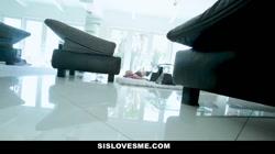 SisLovesMe - Cute Stepsis Plays For Stepbro