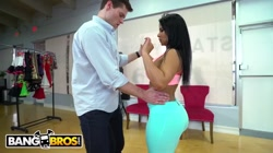 BANGBROS - Big Ass Latina MILF Rose Monroe Teaches Salsa and More