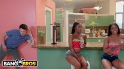 BANGBROS - Sarah Banks Fucks Her BFF's Big Dick Brother, Connor