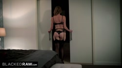 BLACKEDRAW Insatiable Wife Calls For BBC As Soon As Husband Is Gone