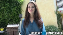 PropertySex - Spiritual homeowner bangs hot real estate agent