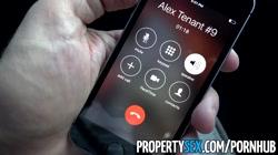 PropertySex - Landlord fucks ex-girlfriend\'s hot younger sister for rent