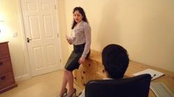 Indian abuses harasses young secretary chudai dirty hindi audio sex story