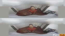 VR 360 - Sexy Honey Gold Rides Isiah Maxwell Big Black Cock