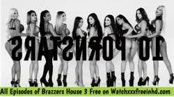Brazzers House 3 Nicolette Shea, Lela Star, Bridgette B, Kissa Sins and mor