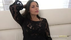 Beautiful and teasing Zafira shows you her perfect tits and pussy - Full