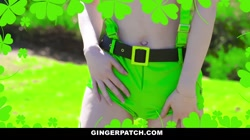 GingerPatch - Hot Ginger Pepper Hart St. Patty\'s Day Fuck