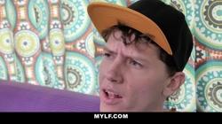 MYLF - Vocal Ginger Milf Fucks Two Family Guys