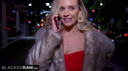 BLACKEDRAW Gorgeous blonde takes huge BBC