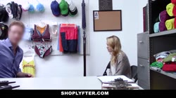 ShopLyfter - Hot Blonde Teen And Step Mom Get Fucked By Security
