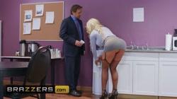 Brazzers - Big Tit office slut Nicolette Shea gets pounded