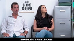 ShoplyterMylf- Latina Milf Thief Fucked By Guard While Husband Watches