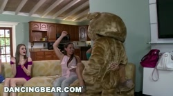 DANCING BEAR - A House Full Of Cock Suckers Line Up For Some Dick