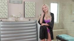 NuruMassage Nina Elle Fully Services her Stepson- Part 2 - FULL SCENE