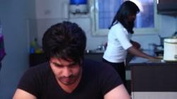 Hot desi shortfilm 415 - Naked boobs squeezed hard in shower