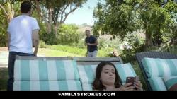 FamilyStrokes - Stepsis Mistakes Stepbro For Boyfriend