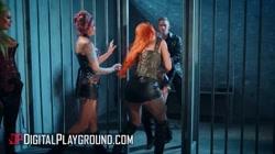 Digital Playground - Big tit Madison Ivy takes Danny D\'s big dick in prison